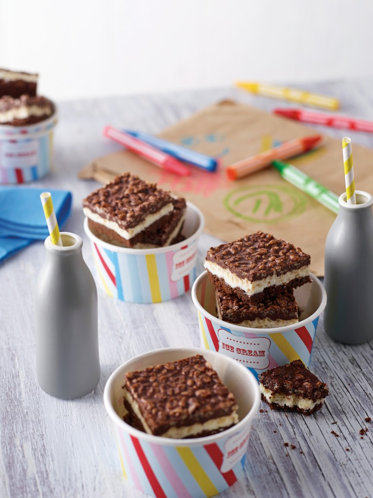 Kids Party Layered Chocolate Slice