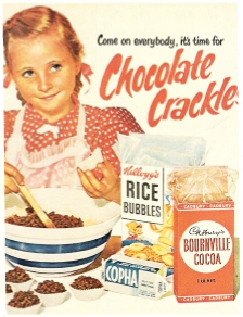Copha Chocolate crackle