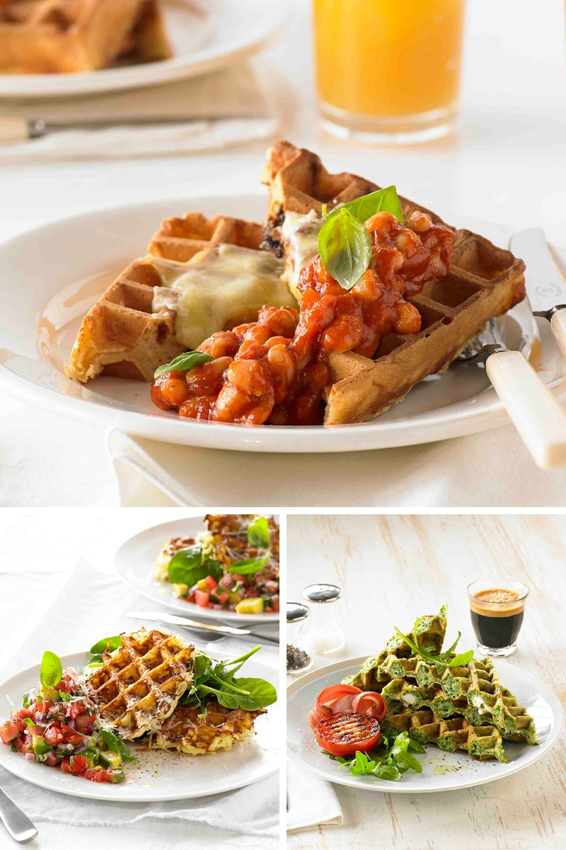 Delicious savoury waffle recipes by Breville