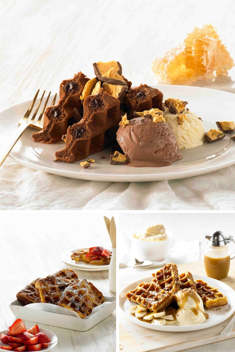 Delicious sweet waffle recipe ideas from Breville