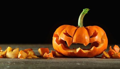 Hints and tips for what to do with the leftover Halloween pumpkin