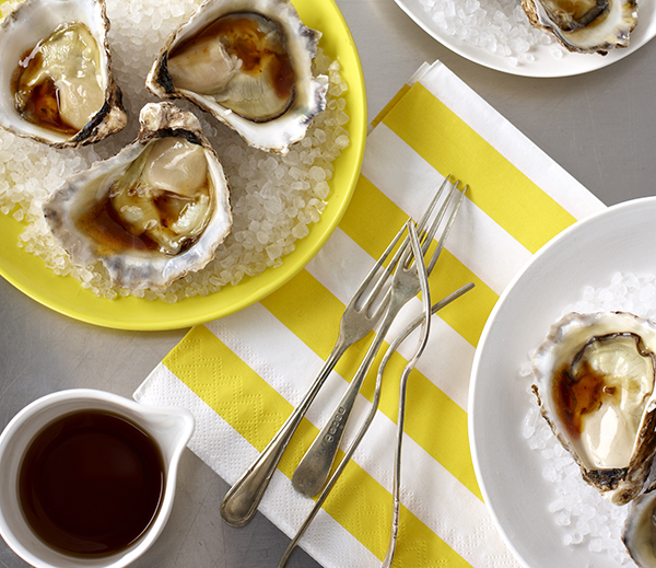 Oysters with Soy & Lime Dressing - Kikkoman
