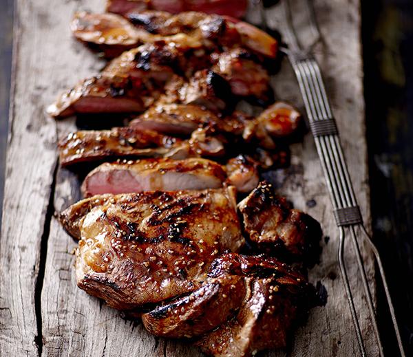 Barbecued Butterflied Leg of Lamb - Kikkoman