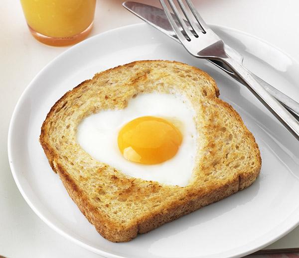 Breakfast In Bed Egg Toast
