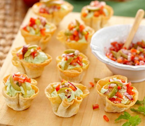 Guacamole Cups - Everyday Delicious Kitchen