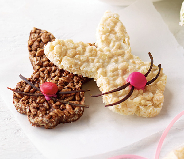 Chocolate Crackle Bunnies