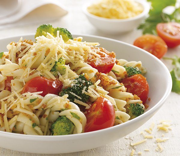 Pasta with Broccoli & Cherry Tomatoes - Perfect Italiano
